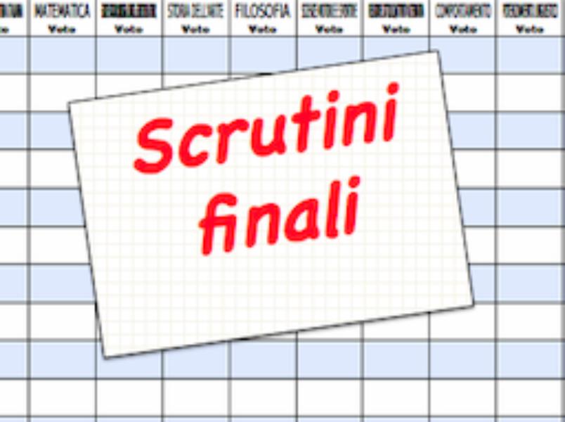 Rettifica Calendario Scrutini-Valutazioni final...
